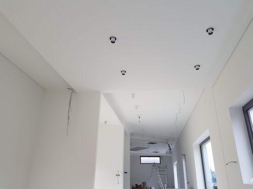Controsoffitti cartongesso pareti divisorie e Contropareti a cappotto isolamenti termo-acustici ISOVER Borgo San Dalmazzo sede di DINO BIKES (2)