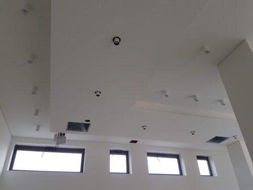 Controsoffitti cartongesso pareti divisorie e Contropareti a cappotto isolamenti termo-acustici ISOVER Cantiere borgo San Dalmazzo sede DINO BIKES