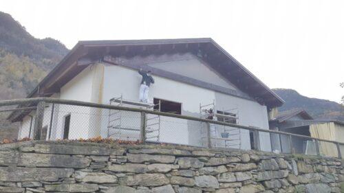 Pareti perimetrali Contropareti a cappotto Isolamenti termo-acustici Isolamenti a cappotto Cantiere Limone Piemonte