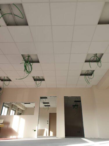 Controsoffitti modulari fonoassorbenti termo-acustici Eurocoustic